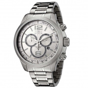 Invicta 0078 Men's Specialty Silver Dial Stainless Steel Bracelet Chronograph Watch