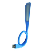 Lampara led Flexible and Notebook USB Blue
