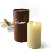 LEDHub 13cm Flameless Candle with Conical Wick
