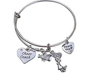 Cheer Coach Bracelet- Coach Cheerleading Bracelet- Cheer Jewellery - Perfect Gift For Coaches
