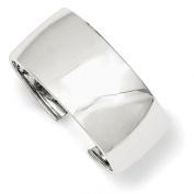 Sterling Silver 30mm Cuff Bangle Bracelet