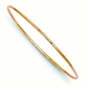 14k 1.5mm Rose Gold Slip-on Bracelet Bangle
