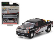 """2015 Chevrolet Silverado Pickup Truck with Safety Equipment 'Hobby Exclusive"""" 1/64 Diecast Model Car by Greenlight"""