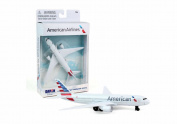 American Airlines Single Plane New Livery, White - Daron RT1664-1 - Diecast Model Aeroplane Replica