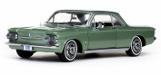 1963 ChevyCorvair Coupe, Green - Sun Star 1483 - 1/18 Scale Diecast Model Toy Car