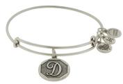 Alex and Ani Initial D Charm Bangle Bracelet - A13EB14DS