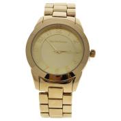 A0372-3 Gold Stainless Steel Bracelet Watch