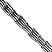 Primal Steel Stainless Steel Polished Bracelet, 22cm