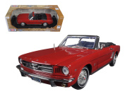 Motormax 1/18 Scale 73145 1964 1/2 Ford Mustang Convertible - colours may vary