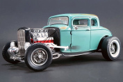 1932 Southern Speed & Marine Ford 5-Window Hot Rod, Light Green - ACME 1805012 - 1/18 Scale Diecast Model Toy Car