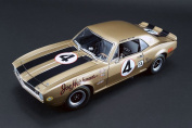 1967 Chevy Camaro Z28, Gold - Acme 1805703 - 1/18 Scale Diecast Model Toy Car