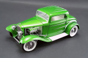 1932 Ford 3-Window Coupe Release #6, Synergy Green - ACME 1805011 - 1/18 Scale Diecast Model Toy Car