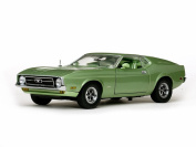 1971 Ford Mustang Sportsroof, Green - Sun Star 3620 - 1/18 Scale Diecast Model Toy Car