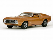 1971 Ford Mustang Sportsroof, Brown - Sun Star 3619 - 1/18 Scale Diecast Model Toy Car