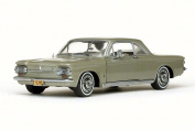 1963 Chevy Corvair Coupe, Autumn Gold - Sun Star 1485 - 1/18 Scale Diecast Model Toy Car