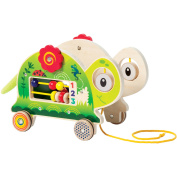 Manhattan Toy My Pal Truman Wooden Toddler Pull Along Toy