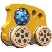 BeginAgain Nubble Rumblers Wooden Bus Toy