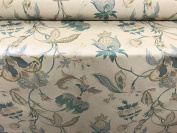 """Vintage Linen Pomaganate Teal140cm/54"""" Designer Material Sewing Upholstery Curtain Craft Fabric"""