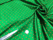 L/Weight Fine Smooth Polyester Polka Dot 2 Print Dress/Craft Fabric