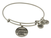 Alex and Ani Because I am a Girl Charm Bangle Bracelet - CBD12BGRS
