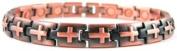 Magnetic Copper Cross Christian Bracelet + Free Gift Box + Adjuster