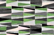 Jane Makower Cotton Dress Fabrics – Geometrics & Lace Stories Triangles S65