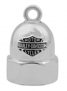 Harley-Davidson Bolt With Bar & Shield Logo Motorcycle Ride Bell, Silver HRB061, Harley Davidson