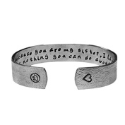Sister Gifts Present Jewellery | I Smile Because You Are My Sister Bracelet