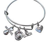 Softball Coach Bracelet- Baseball Coach Bracelet- Softball Jewellery - Perfect Gift for Softball Coaches