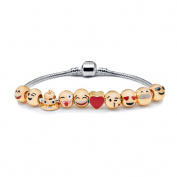 Emoji Bead Charm Bracelet - GLK Collection