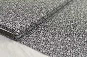 """'Floral 1 métre """"Milo Black 100 x 150 cm 100% Cotton"""