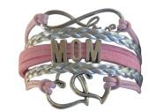Mom Bracelet, Mom Jewellery, Mom Infinity Bracelet, Makes the Perfect Gift For Moms