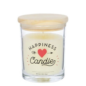 Aromatic Candle Happiness 20 Hours 7x7x9 Cm.