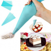 Bazaar L Silicone Reusable Cake Piping Bag Icing Cream Pastry Decorating Tool