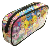 Emoji Colourful Cosmetic Bag Make Up Tool Organiser Pen Holder Toiletry Pencil Case Pouch