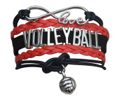 Volleyball Bracelet- Girls Volleyball Bracelet- Volleyball Jewellery - Perfect Gift For Volleyball Players