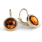 Dangle Earrings,UHIBROS Women's Stone Crystal Dangle Drop Earrings