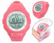 LADIES SPORTS WATERPROOF WATCH GIRLS RUNNING SWIMMING WATCH STONE® BRAND