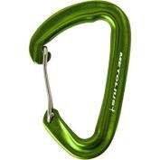 metolius inferno wiregate carabiner green wiregate