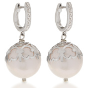 PearLustre by Imperial SS White FW Windsor Pearl Dangle Earrings