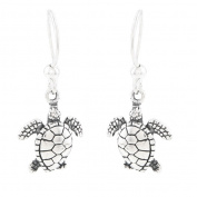 Dakota West Silvermoon Sterling Silver Sea Turtle Earrings