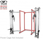 Valour Fitness BD-CC2.0 Cage Cable Crossover Attachment 5.1cm Frame