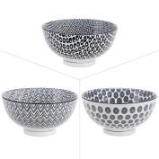 Bowl 15 cm Kuro Assorted Porcelain by 3