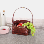 Bread tray storage basket,Wedding fruit basket bowl stand compote for wedding festival guests entertainment events displaying-A D8*H4/H10.15cm