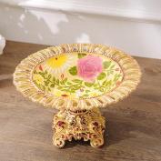 Longless Continental fruit plate KTV decorative resin ornaments creative home decoration process