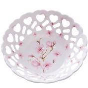 European Melamine Plastic Hollow Drain Fruit Plate Creative Home Living Room Modern Simple Fruit Basket