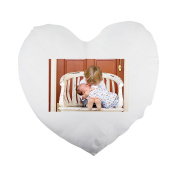 Brothers, Boys, Kids, Baby, Newborn Heart Shaped Pillow Cover