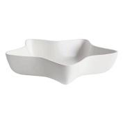 ASA 6102091 Xmas Star Bowl, Ceramic, Matte White, 34.5 x 34.5 x 7.5 cm