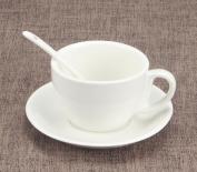 JIANGU coffee cup set, ceramic coffee cup, European Cup, creative coffee cup, coffee cup, coffee cup and saucer simple Lahua