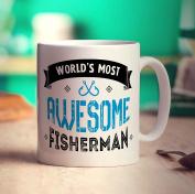 World's Most Awesome Fisherman Mug